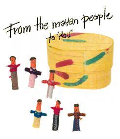 Mayan Worry Dolls - in Box