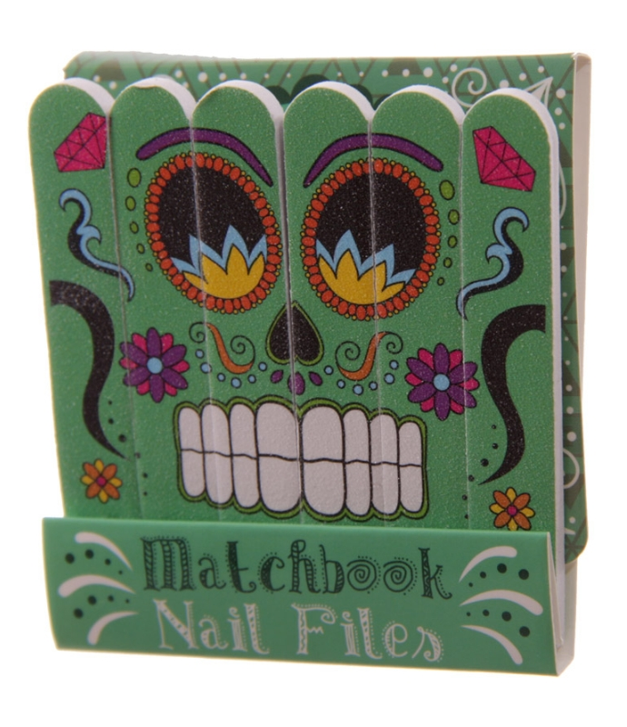 lareina webshop nail file match book day of the dead