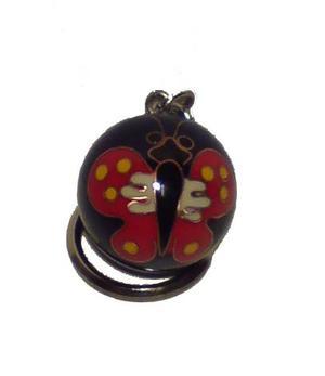 Baoding Ball Keychain - Butterfly
