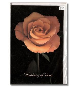Card | Rose - Thinking of You