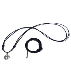 Puuvillanaru - musta - 1,5mm