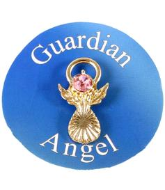 Guardian Angel Pin - Pink