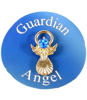 Guardian Angel Pin - Blue