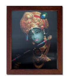 3D Picture in Frame - Krishna