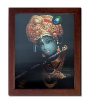 3D Picture in Frame - Krishna