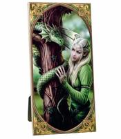 Anne Stokes Art Tile - Kindred Spirits, medium