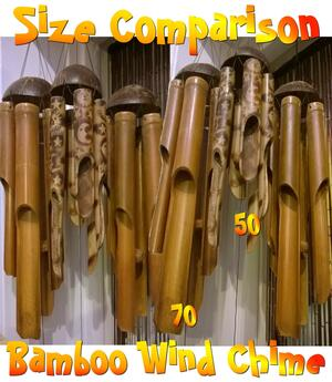 Bamboo Wind Chime - 60cm