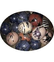 African Soapstone Egg