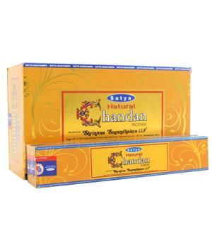 Incense Sticks Satya - Natural CHANDAN