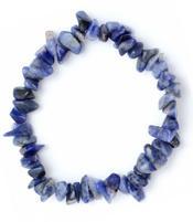 Gemstone Chip Bracelet - Sodalite