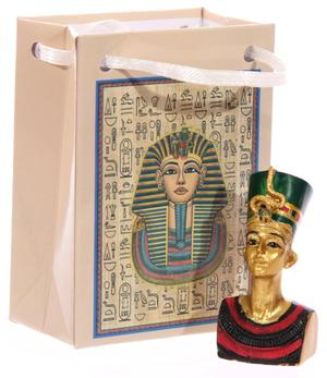 Egyptian Figures in Bag - Miniature Statue