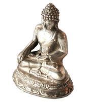 Silver Statue - Amitabha Buddha