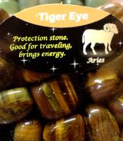 Zodiac Stone Aries - Tiger Eye