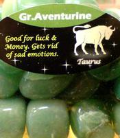Zodiac Stone Taurus - Green Aventurine