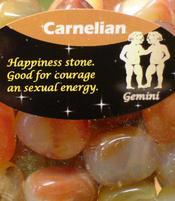 Zodiac Stone Gemini - Carnelian