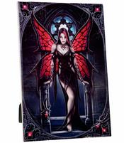 Anne Stokes Art Tile - Aracnafaria, large