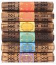 Incense Holder Wood Box - Esscents Gift Set with Incense