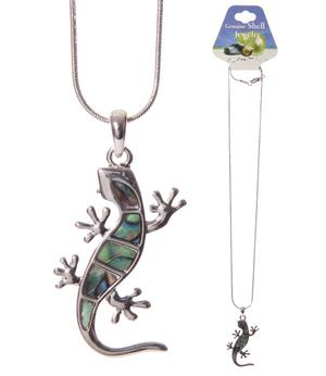 Shell Jewelry Necklace - Lizard