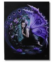 Anne Stokes Canvas Print - Niaid, 19 x 25cm