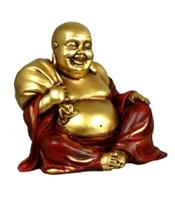 Golden Happy Buddha - Sack, 12