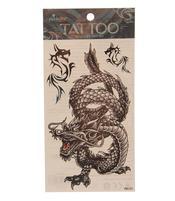 Temporary Skin Art Tattoo - Black Dragon