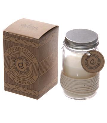 Eden Scented Soya Candle Jar - Cinnamon Spice