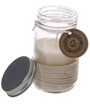 Eden Scented Soya Candle Jar - Lemongrass & Ginger