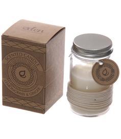 Eden Scented Soya Candle Jar - Lemongrass & Ginger