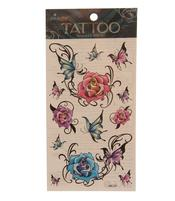 Temporary Skin Art Tattoo - Colorful Roses