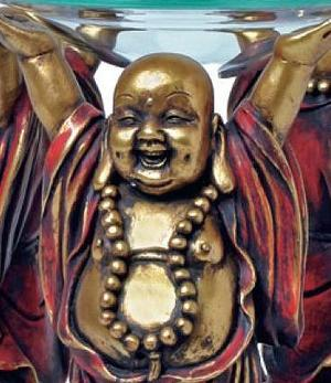 Aromalamp Happy Buddha - Wealth