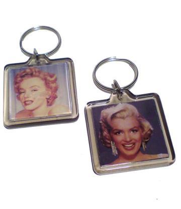 Marilyn Monroe | Keychain square - 8