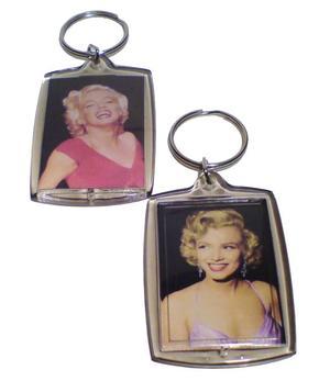Marilyn Monroe   Keychain rectangle - 9