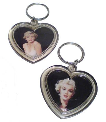 Marilyn Monroe | Keychain heart - 17