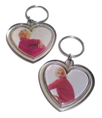 Marilyn Monroe | Keychain heart - 18