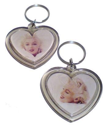 Marilyn Monroe | Keychain heart - 19