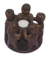 Tealight Holder - Circle of 5 Friends