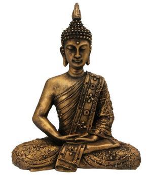 Amitabha Thai Buddha - Antique Bronze 30cm