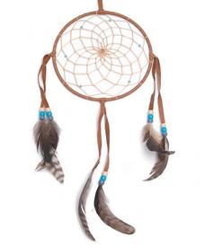 Navajo Dreamcatcher - brown, 15cm