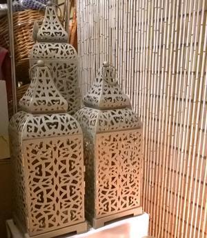 Bambu oviverho - Valkoinen