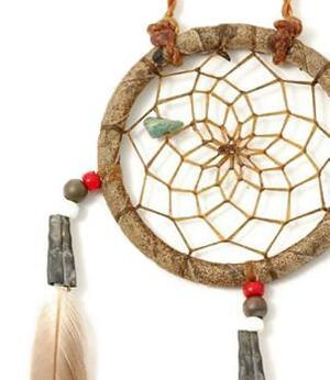 Navajo Dreamcatcher by Curtis Bitsui - Antique Finish, 5cm
