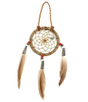 Navajo Dreamcatcher by Curtis Bitsui - Antique Finish, 5cm