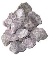Lepidoliitti, luonnollinen mineraali
