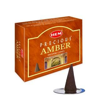 Incense Cones HEM - Precious Amber