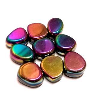 Hematiitti, titaani - magneettinen, rumpuhiottu