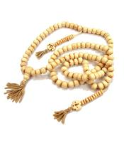 Buddhist Mala Prayer Beads - Bone White