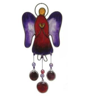Suncatcher - Angel, Purple