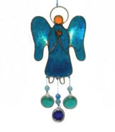 Suncatcher - Angel, Blue