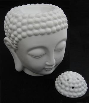 Amitabha Buddha Head - Aroma Lamp, 14 x 12cm