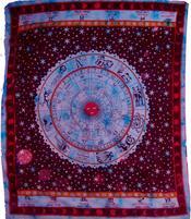 Bedspread Zodiac - Purple