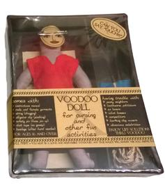 Voodoo Doll for Cursing - Female
